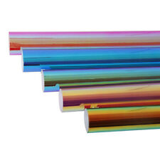 pack Holographic Adhesive craft vinyl Multicolor Rainbow Color car/wall/cup