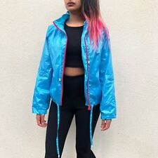 Stussy Women's Lightweight Jacket Blue And Pink Womens Small