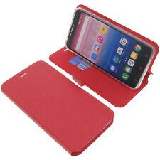 étui pour Alcatel Pixi 4 6.0 3G style Livre etui coque téléphone rouge