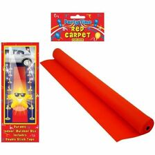 1 Hollywood Red Carpet Floor Runner Oscars VIP Party Aisle Decoration Prop