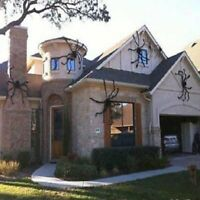 Furry Fake Spider Horror Haunted House Props Halloween Party Spooky Decorations