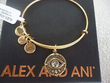 Alex and Ani Evil Eye Expandable Charm Bracelet A17ebeerg Rafaelian Gold (v1)