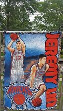 Linsanity Jeremy Lin NBA NY Knicks Wall Hanging, Blanket, Room Decor 36x47