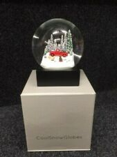 Red Truck with Dogs Snow Globe By CoolSnowGlobes. NEW BOXED