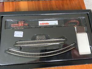 Marklin Vintage Miniature Z Scale Train Set 8176 Complete in Original Box