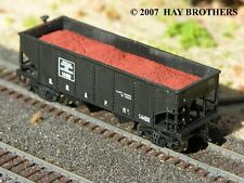 Hay Brothers IRON ORE LOAD - Fits BOWSER GLa 2-Bay Hopper Cars
