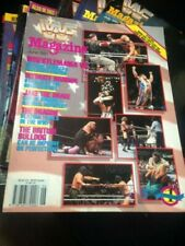 WWF WWE Magazine JUNE 1991 Wrestlemania Special + Merchandise Catalog