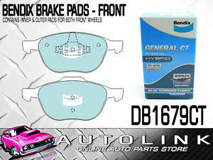 BENDIX FRONT BRAKE PADS FOR FORD KUGA TE 2.5L AWD & TF 1.6L AWD FWD WAGON