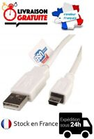 CABLE CORDON RALLONGE USB / MINI USB 50 CM 2.0 APPAREIL PHOTO MP3 NEUF
