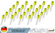 25 Stück LED 5mm gelbe Farbe diffus 20mA für Arduino Raspberry Pi basteln