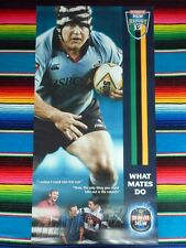 ✺New✺ NSW WARATAHS Rugby Posters MATT DUNNING PHIL WAUGH - Jersey Not Signed