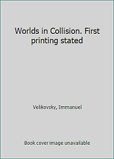 Worlds in Collision. First printing stated by Velikovsky, Immanuel