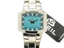 BREIL Style quarzo lady acciaio quadrante azzurro referenza BW0071 new