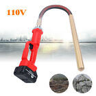 Concrete Vibrator With Pipe Rod Length 1m For Air Bubbles Removal w/Charger