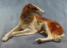 barsoi Figur porzellan Hundefigur porzellanfigur hund Lomonosov