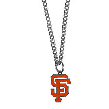 San Francisco Giants Chain Necklace Metal Logo MLB Licensed Jewelry SM