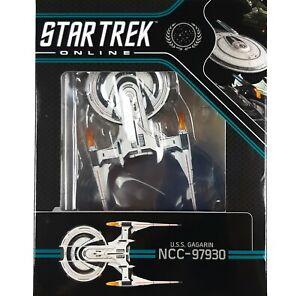 Star Trek Online Starships USS GAGARIN Federation Battlecruiser Model Eaglemoss