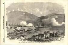 1855 The Conflict On Traktir Bridge During The Battle Of Tchernaya