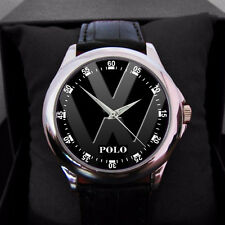 Volkswagen VW Polo Mens n woman leather sport watch new