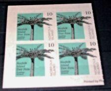 Norfolk Island :- SG-888 booklet block of four MNH Tree Fern (43W)