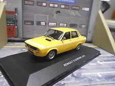 RENAULT 12 Gordini Limousine Sport gelb yellow 1970 SP Solido 1:43
