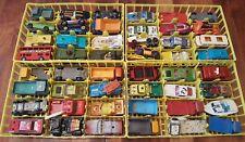 LOT OF VINTAGE MATCHBOX TOYS, CARS, TRUCKS, MISCELLANEOUS