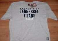 Steve McNair #9 Tennessee Titans Jersey Style T-shirt XL Gray NFL
