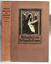 Italian Portraits in Engadine Frames 1904 LmEd 1/100 Switzerland Italy Travel