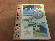 More details for guadeloupe 2005  euro  pattern coin set - free uk p&p