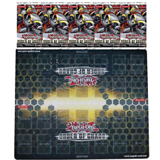 YuGiOh Order Of Chaos 2 player playmat with BONUS 5 BOOSTER PACKS