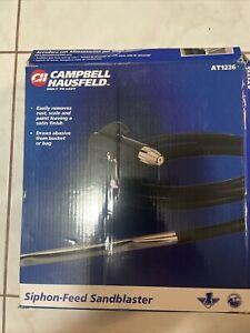 NEW Sandblasting Kit  AT1226  Campbell Hausfeld Siphon Feed from bucket or bag