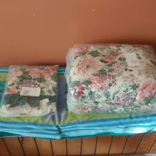Turnbull Green Shams and Comforter