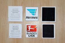 Bundesliga + Hermes Patch Badge Logo Saison 2016/2017 16/17 NEU wie Matchworn