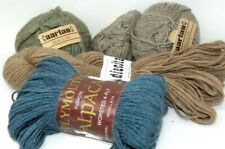 Lot of 4 Alpaca Yarn Aarlan Plymouth Indiecita Silk Fleece Peru