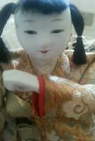 Antique Japan Doll Ningyō Japanese Male Asian Dolls Traditional Costume
