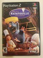 Ratatouille (Sony Playstation 2, 2007) PS2 Play Station 2 Game Disney Pixar cib
