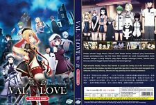 ANIME DVD~Val x Love(1-12End)English subtitle&All region FREE SHIPPING+GIFT
