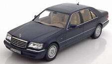 NOREV 1994 Mercedes Benz S500 W140 Azurite  Blue Dealer Edition 1:18*New Item!