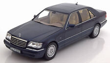 NOREV 1994 Mercedes Benz S500 W140 Azurite  Blue Dealer Edition 1:18*New Item!