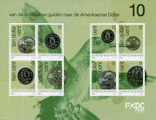 More details for saba caribbean netherlands stamps 2020 mnh 10 cents guilders to dollars 8v m/s