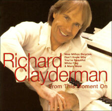 RICHARD CLAYDERMAN * NEW CD * From This Moment On * 20 Original Favorites
