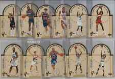 90's INSERTS LOT (11/15) 1993-94 UPPER DECK SE ALL-STAR DIE CUTS EAST 1:30 PACKS