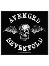 Avenged Sevenfold Death Bat Black Patch