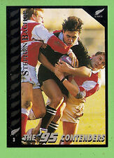 1995 NEW ZEALAND  ALL BLACKS RUGBY UNION CARD  #3  STEPHEN  BACHOP