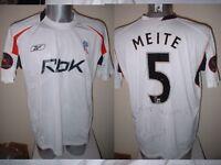 Bolton Wanderers Peace Cup MEITE Match Shirt Jersey Football Soccer Adult XL RBK