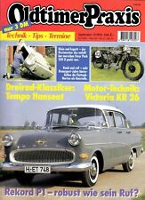 OP9409 + NORTON Flattank + VICTORIA KR 26-Motor + Oldtimer Praxis 9/1994
