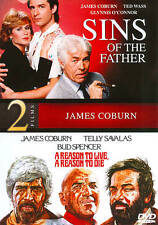Sins of the Father / A Reason to Live, a Reason to Die DVD James Coburn - NEW