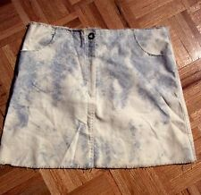 AYS Denim Mini Skirt Size EUR 46!