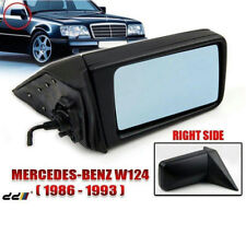 Mirror Body & Glass RIGHT BENZ Mercedes 190 Series 83-93 / W124 84 -96 MANUAL