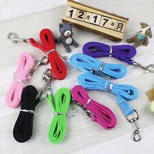 120cm Dog Leash Nylon Lead Training Pet 6 Color Leashes Strap Collar for Walking